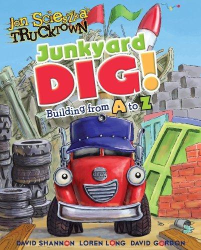 Junkyard Dig!: Building from A to Z (Jon Scieszka's Trucktown) by Annie Auerbach (2010-06-08)