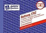 Avery Zweckform 1742 Quittung Kleinunternehmer weiß