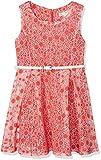 Yumi Girl's Cherry Burnout Dress, Red, 9-10 Years