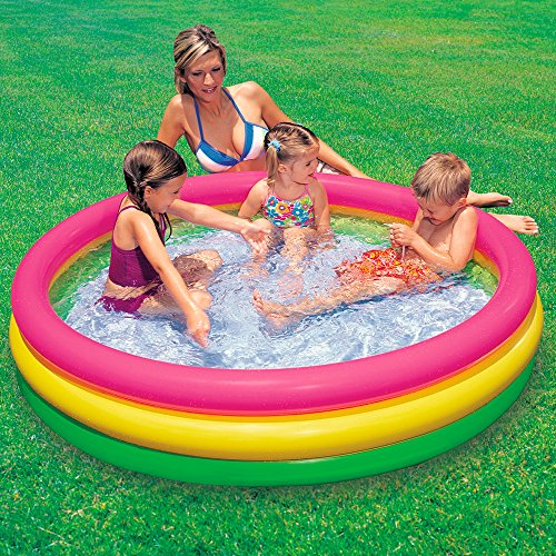 Intex 57412 piscina 3 anelli 114 x 25 cm piscine for Piscine x bambini
