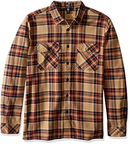 volcom-mens-jasper-long-sleeve-shirt-gravel-m