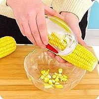 UMATH Easy corn peeler for sweet Corn Cob Kerneler Thresher Stripper Remover Cutte