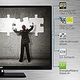 Telefunken XH24D101 61 cm (24 Zoll) Fernseher (HD Ready, Triple Tuner) schwarz für Telefunken XH24D101 61 cm (24 Zoll) Fernseher (HD Ready, Triple Tuner) schwarz