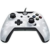 PDP Wired Controller for Xbox One (White Camouflage)