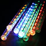 Raindrop RGB Sticks – Create artificial Raindrop – 8 Sticks 12 inches – Best Diwali Decoration