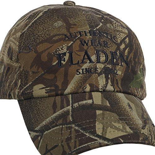 Fladen Angeln Authentic Wear 100% Baumwolle getarnt Schirmmütze Baseball Cap–Hervorragende Sonne Wetter Schutz Während Angeln [22-aw1833C] (Bekleidung Baseball Angels)