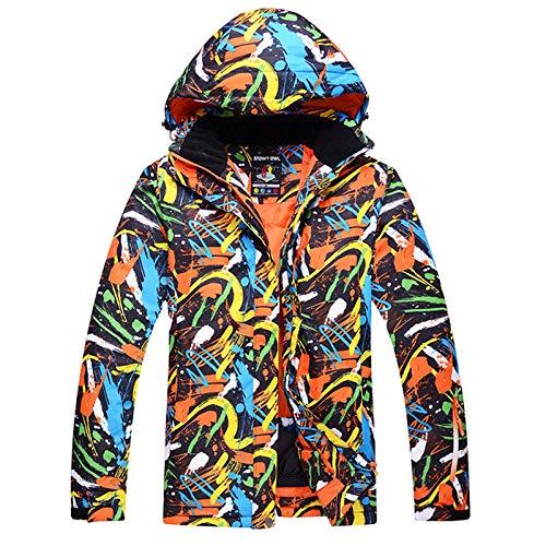 AXIANNV Herren Schneejacke,-30 Kostüme, Outdoor Sport Skianzug Mäntel Snowboard Jacken wasserdicht Winddicht Dicker Winterbekleidung, Herren Bild Jacke, XL (Men's Alpine Kostüm)