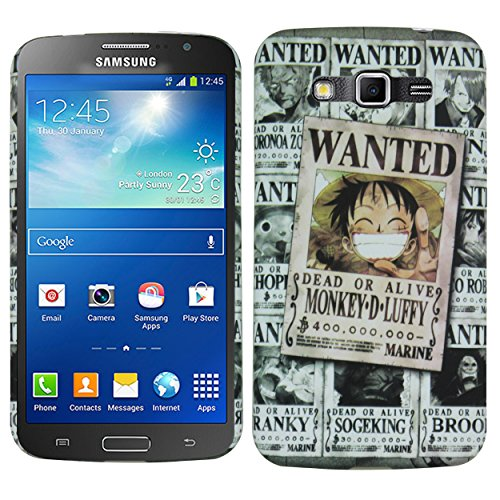 Heartly Cartoon Printed Design High Quality Hard Bumper Back Case Cover For Samsung Galaxy Grand 2 G7102 G7106 - Wanted Grey  available at amazon for Rs.199