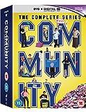 Community The Complete Season - Community - The Complete Seasons 1-6 (17 Dvd) [Edizione: Regno Unito] [Import anglais]