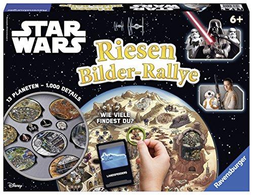 Ravensburger Spiele 21241 Star Start Wars Riesen Bilder-Rallye Brettspiel, Mehrfarbig