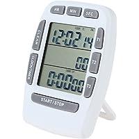 Jayron JR KT001   Timer digitale grande LCD  3 canali  timer da cucina  conto alla rovescia