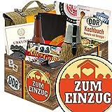 Zum Einzug | NVA Box | Geschenkset | Zum Einzug | NVA Geschenkset | Geschenk zum Einzug für Männer | mit Flasche NVA Bier, Tragetasche der NVA DDR und mehr