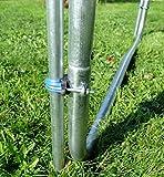 Outdoor Gartentrampolin Trampolin XL – 436cm komplett inkl. Sicherheitsnetz und Leiter TÜV geprüft von AS-S - 7