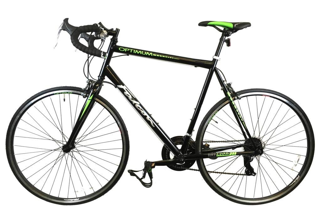 61%2BqvZI8q%2BL - Falcon Optimum Mens Road Racing Bike - Black/Green