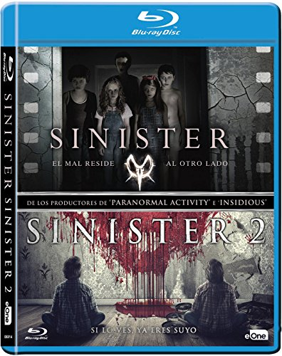 Pack Sinister 1 + 2 [Blu-ray]