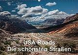 USA Roads (Wandkalender 2017 DIN A2 quer): Eindrücke von den schönsten Straßen der USA (Monatskalender, 14 Seiten ) (CALVENDO Orte)