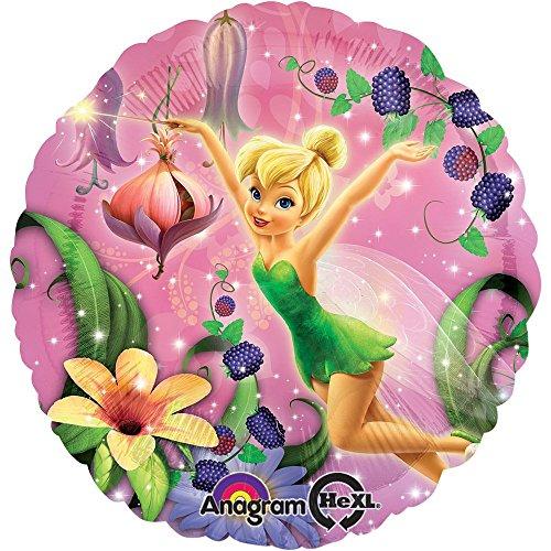 Amscan Tinkerbell Ballon Folienballon bunt 43cm Einheitsgröße