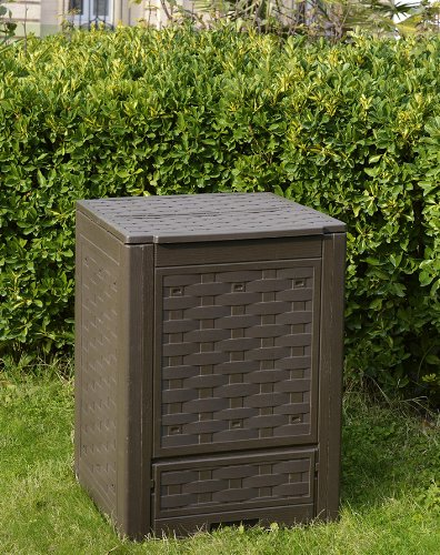 Zoom IMG-2 toomax z650r035 contenitore composter rattan