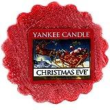 Yankee Candle 1199617E Tartelette en cire senteur Soirée de Noël Rouge