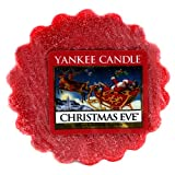 YANKEE CANDLE Dufttarts-Christmas Eve 22g, Wachs, Rot, 6.4x6.2x8.6 cm