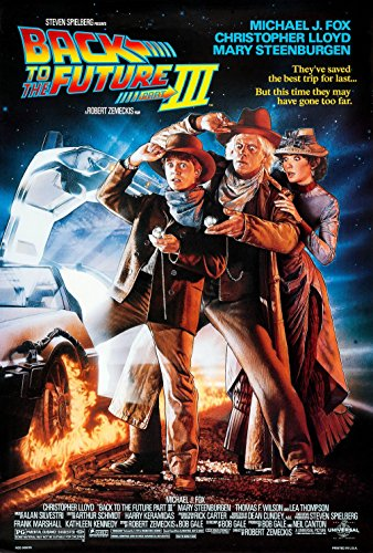 Back to the Future 3Movie poster 1carta lucida, carta lucida, A1 - 610mm x 914mm - Extra Large