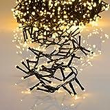 1000er LED Lichterkette extra warmweiß mit 8 Programmen LEDs für Innen und Außen
