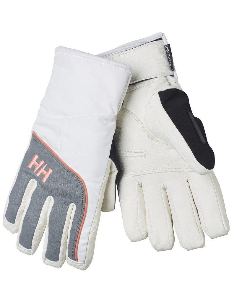 Helly Hansen Damen W Freya HT Glove Handschuhe, White / Grey, XS