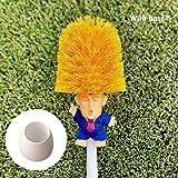 Acutty 1 Pcs Donald Trump Toilet Bowl Brush Funny Gag Gift Toilet Great Again