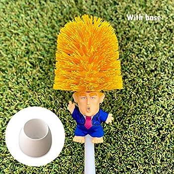 24991f84c66bb Soulitem 1 Pcs Donald Trump Toilet Bowl Brush Funny Gag Gift Toilet Great  Again