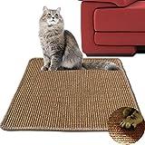 GossipBoy Cat Scratch Matte Kratzbaum und Ruheplatz Post Katze Sisal Pads Kitty Schutz Play Pad 40* 60mm