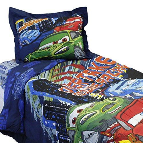 4Disney Cars 2Full Tröster Set Beleuchtung McQueen Streak Bett Schmusetuch Bettvolant und kissenrollen (Voller Bettwäsche Größe Disney)