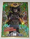 LEGO Ninjago Serie 3 Gemeiner Garmadon LE 16 limitierte gold Karte Auflage Trading Card NEU