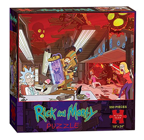 USAopoly Rick & Morty Puzzle (550 Piece) by USAopoly
