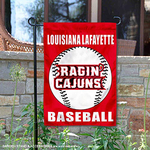 College Flags and Banners Co. UL Lafayette rajun Cajuns Baseball Garten Flagge Louisiana-lafayette Baseball