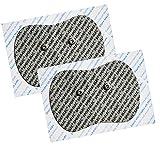 Sport-Elec Tens Sudoloris électrode Adulte Unisexe, Gris/Rouge, 160x 90 mm