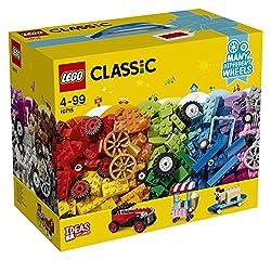 Kreativ-Bauset FahrzeugeBring deine LEGO® Ideen in Bewegung – mit diesem spannenden LEGO Classic Set mit einer breiten Auswahl an Rädern und Reifen in vielen Farben und Größen plus einer bunten Vielfalt an LEGO Elementen, wie Steine, Formen und Augen...