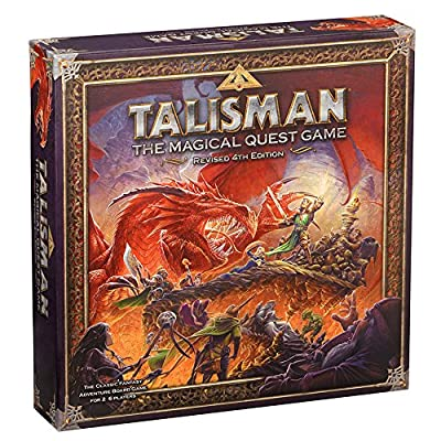Games Workshop gaw89001–Talisman 4ème Edition Core Game