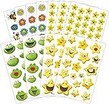 Avery Zweckform 58212 Belohnung Sticker Set Lachende Gesichter (Vorteils-Pack) 274 Aufkleber