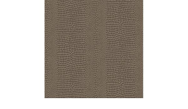 Braun 1005x52 cm Skin Vliestapete Krokodil