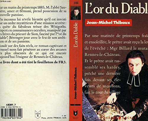 L'or du diable par JEAN-MICHEL THIBAUX
