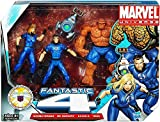 Marvel Universe 3 3/4 Inch Action Figure 3 Pack Fantastic Four Invisible Woman, Mr. Fantastic Thing with H.E.R.B.I.E