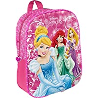 Star Disney Princess Backpacks Shape- Medium with Star Shaped Picture, Dimension- 25 x 11 x 32 cm