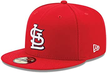 New Era St. Louis Cardinals AC Performance Home 59fifty Fitted cap MLB Authentic