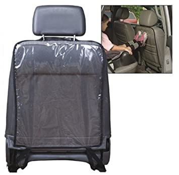MalloomR Car Seat Back Protector Cover For Children Kick Mat Mud Clean Black