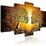 murando - Bilder 200x100 cm - Vlies Leinwandbild - 5 Teilig - Kunstdruck - Modern - Wandbilder XXL - Wanddekoration - Design - Wand Bild - Abstrakt b-A-0341-b-m