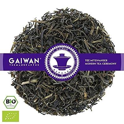 "N° 1305: Thé vert bio""Ceylon Wattawalla OP"" - feuilles de thé issu de l'agriculture biologique - GAIWAN GERMANY - thé noir au Ceylan"
