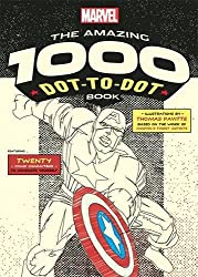 Marvel's Amazing 1000 Dot-to-Dot Book: Twenty Comic Characters to Complete Yourself (Dot to Dot Books)