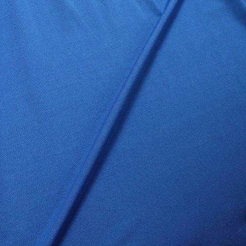 Donna Camicetta T-shirt Top Maglia Maglietta a maniche lunghe Casual Elegante V-collo Azzurro