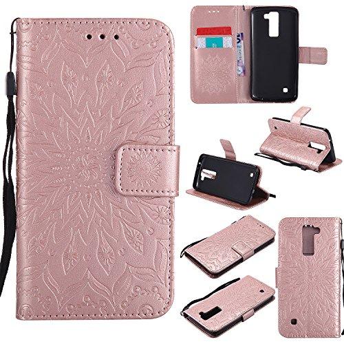 for-lg-k7-lg-k8-case-rose-goldcozy-hut-wallet-case-magnetic-flip-book-style-cover-case-high-quality-