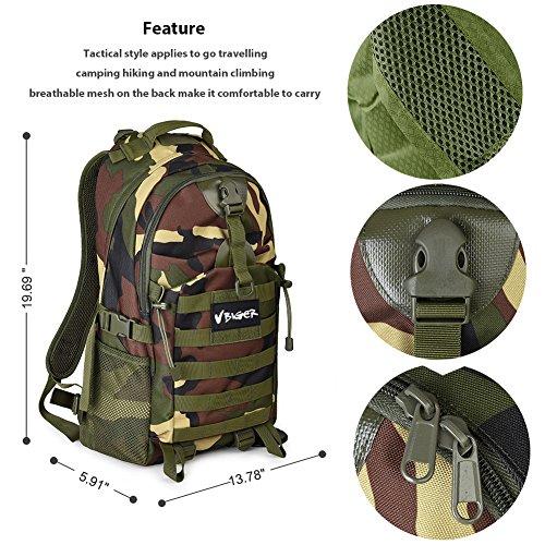 Imagen de vbiger  táctica militar ejército bolso al aire libre macutos de senderismo excursiones camuflaje  alternativa
